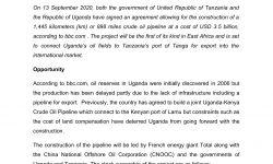 """MATRADE's Insight """"Opportunity to Supply Oil & Gas Products and Services to Tanzania and Uganda"""""""