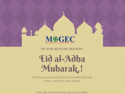 Eid Al-Adha from MOGEC President, Council Members and Secretariat