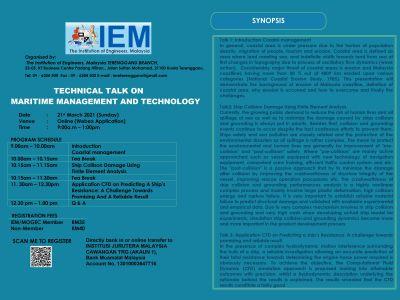 MOGEC X IEM WEBINAR: TECHNICAL TALK ON MARITIME MANAGEMENT AND TECHNOLOGY