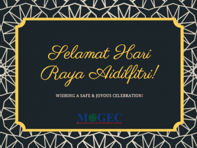 Selamat Hari Raya Aidilfitri from MOGEC President, Council Members and Secretariat