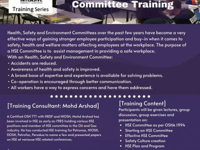 Effective Health, Safety and Environment (HSE) Committee Training